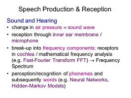 The production and reception of speech