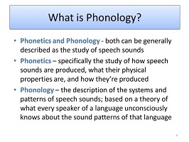 Photo of Phonology and its different concepts
